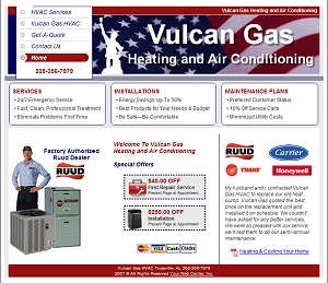 Vulcan Gas Heating and Air Conditioning